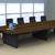 Mesa de reunião estrutura em madeira (Wood especial)